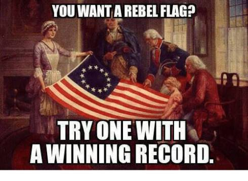rebelflagwinningrecord